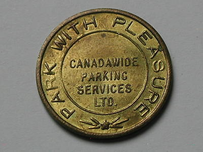 Canadawide Parking Services Inc 1947-1997 Parking Token/Coin with Lustre