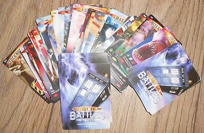 Doctor Who Battles in Time Trading Cards - 50 all different - Dr Who