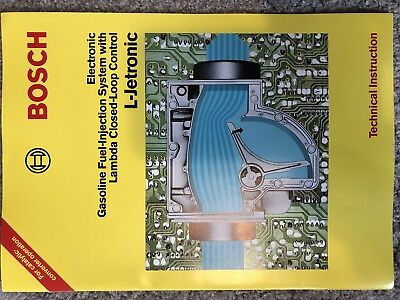 bosch l jetronic fuel injection system technical manual 0 99 rh picclick co uk KE- Jetronic L-Jetronic FIA