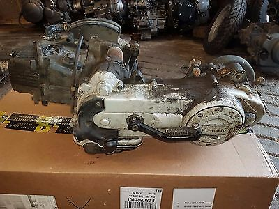 piaggio fly 100 engine Casing        [engine not for sale side engine casing