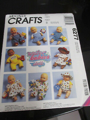 Uncut Mc Call's Craft Sewing Pattern~6277~Waterbabies Doll Clothes