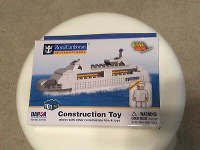 Royal Caribbean International:  Construction Toy Cruise Ship with Figure
