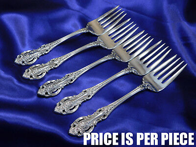 Wallace Grand Victorian Sterling Silver Salad Fork - Nearly New Condition