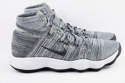 49fc93b56a65 Nike Hyperdunk 2017 Flyknit Mens Cool Grey Basketball Shoes 917726 007 Sizes