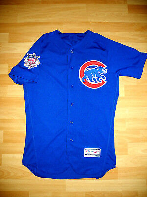 Chicago Cubs Trikot   Gr. M (40)   Authentic Majestic MLB Baseball Jersey AWAY