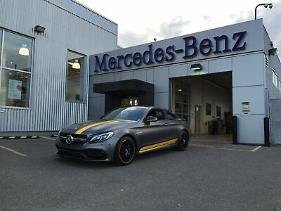 Mercedes-Benz: C-Class Edition 1 Mercedes-AMG 2017 C63S Edition 1