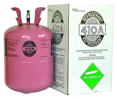 (4) R410a, R410a Refrigerant 25lb tank. New Factory Sealed ( Made in USA)