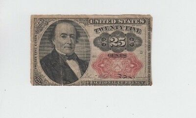Fractional Currency Civil War era item to the 1870's  lower grade