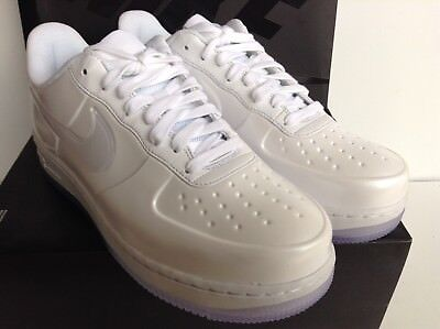 finest selection a1a1f cdae0 Nike Af1 Air Force 1 Foamposite Pro Cup Triple White Mns.sz.9 (