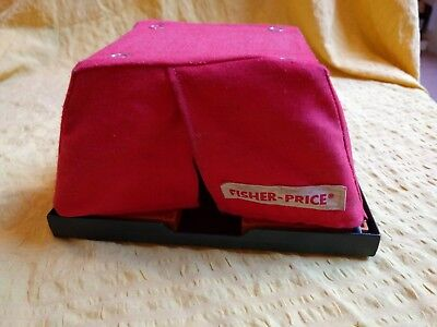 Vintage Fisher-Price Adventure People #304 Safari Red TENT Pop Up replacement