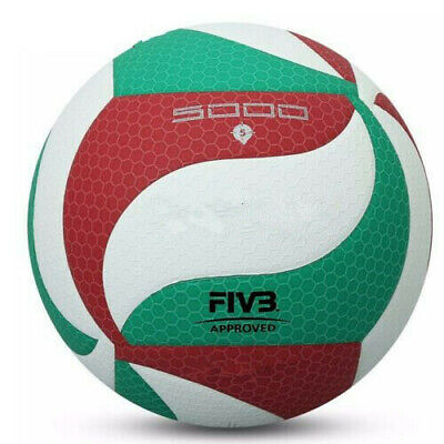 PU Leather Molten Size 5 Volleyball 5000 Soft Touch Training Sports Game Ball