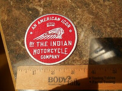 An American Icon 1901 By The Indian Motorcycle Company Iron on Patch