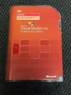 Microsoft Visual Studio 2008 Pro / SQL Server 2005 - Upgrade Retail Boxed