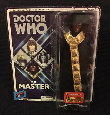 """Doctor Who The Master Deadly Assassin Action Figure 8"""" Limited Edition Comic Con"""