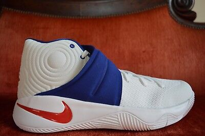 promo code 55367 3860a NEW Nike Kyrie 2 USA Olympics 4th July Red   White   Blue Size 13 819583