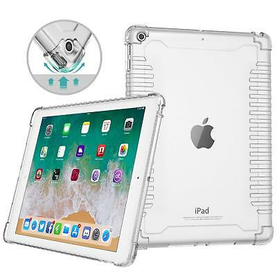 MoKo Clear Case Shockproof Skin Bumper Transparent Cover for iPad 9.7 2018/2017