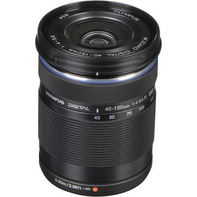 Olympus 40-150mm f4-5.6 Black Micro Four Thirds Lens