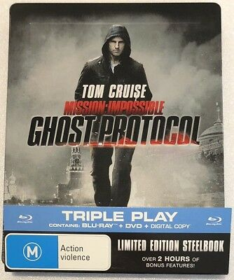 Mission: Impossible Ghost Protocol Steelbook - Limited Edition Blu-Ray
