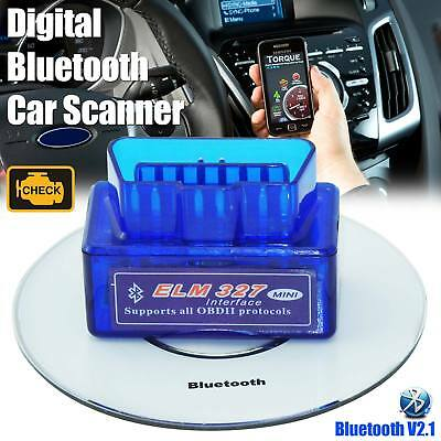 ELM 327 Bluetooth V2.1 OBD2 OBDII Auto Diagnose Auto Scanner Codeleser