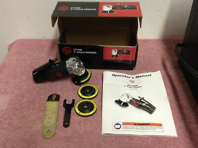 "Chicago Pneumatic 2"" Angle Grinder / Cut-Off Tool - CP7500 ~ NIB"