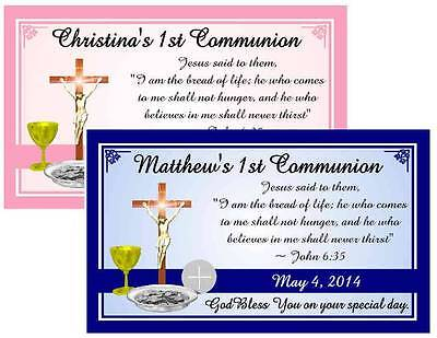 12 FIRST 1st HOLY COMMUNION MAGNETS FAVORS ~ Eucharist