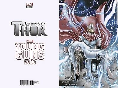 Mighty Thor #706 Young Guns Variant. New, Unread,Bagged And Boarded.