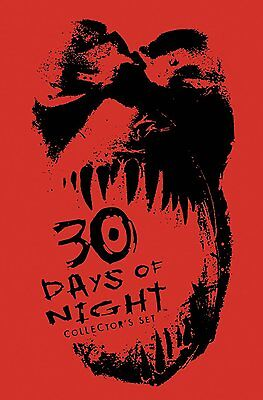30 DAYS OF NIGHT COLLECTORS SET, BRAND NEW Signed by Niles/Templesmith