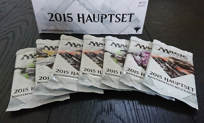 MAGIC The Gathering Hauptset 2015 M15 Booster deutsch