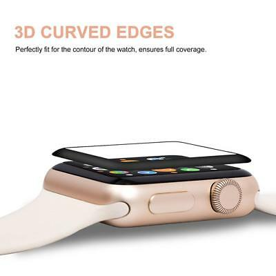 Magnetic Dock Charger for Apple Watch 1 2 3 + Tempered Glass Protector 38mm