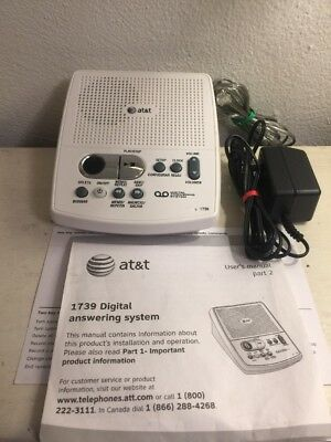 AT&T Digital Answering System 1739 machine