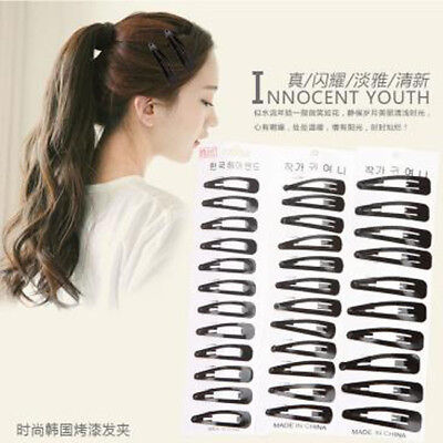 12Pcs/Set Fashion Women Girl Metal  Hair Clips Barrette Hair Accessories LD