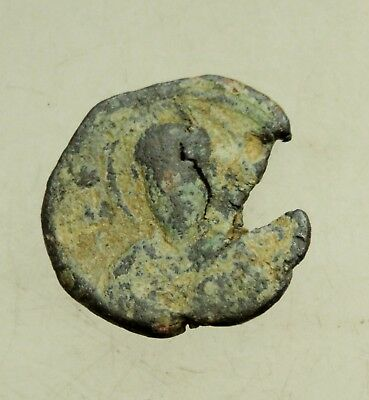 Ancient Byzantine  Lead Seal   D=21mm  6g