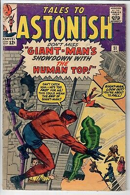 Tales to Astonish #51 Giant-Man / Wasp