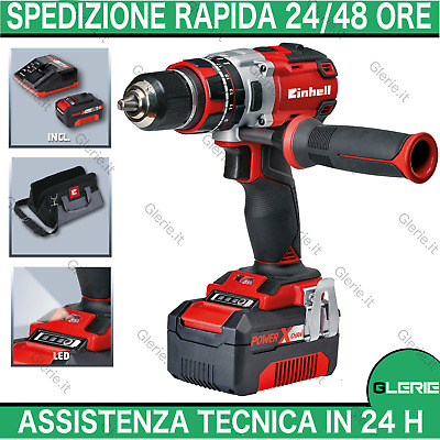Trapano avvitatore percussione brushless 4.0Ah EINHELL TE-CD 4513864 18V litio
