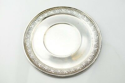 Hardy & Hayes Randahl Shop Sterling Silver Bread Plate Dish Coaster No Mono