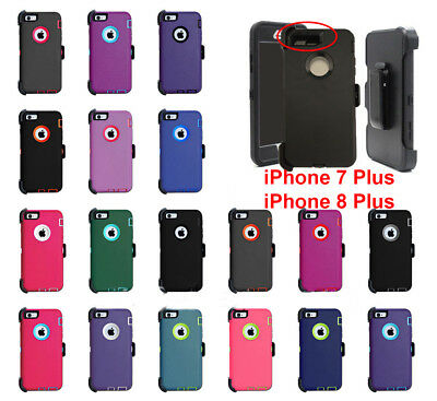 For Apple iPhone 7 & 7 Plus + Case Cover (Belt Clip fits Otterbox Defender)