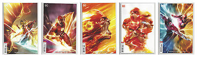 FLASH #47 48 49 50 & 51 MATTINA VARIANT SET (1st PRINT) DC 2018 SOLD OUT NM- NM