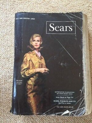 Vintage 1963 Sears Roebuck Catalog Fall And Winter Seattle Edition