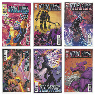 THANOS #13 14 15 16 17 & 18 SET 1st COSMIC GHOST RIDER (multiple prints) NM- NM