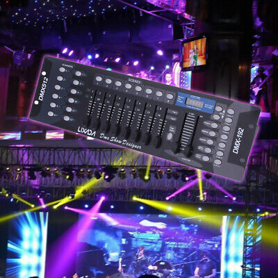 192 Channels DMX512 Controller Console for Stage Light Party DJ Disco KTV Club