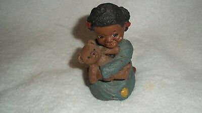 "1986 Hand Signed Martha Holcombe - All God's Children ""Prissy""  #38 Figurine"