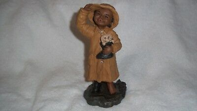 "1989 Hand Signed Martha Holcombe - All God's Children ""Kacie""  #32 Figurine"
