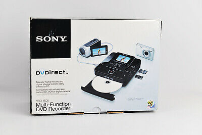 Brand New Sony VRD-MC6 DVDirect Compact Size DVD Burner with AVCHD Recording