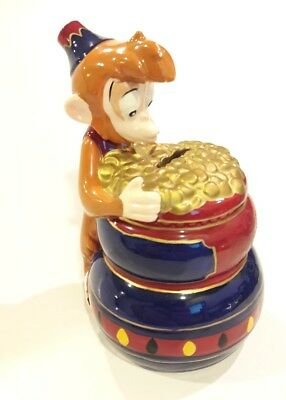 Disney Aladdin Abu Coin Bank Rare !!!
