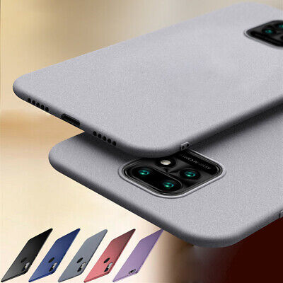 For Xiaomi Redmi S2 6A 5 Plus Note 7 Pro Silicone TPU Sandstone Matte Case Cover