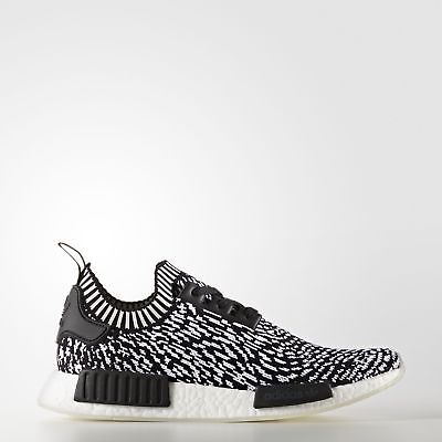 7e4997e7a42c3 Adidas Originals NMD R1 Primeknit  BY3013  Men Casual Shoes Zebra Black  White