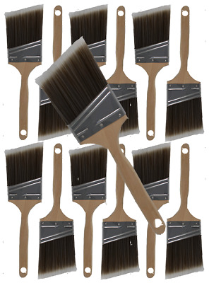 """3"""" Angle House Wall,Trim Paint Brush Set Home Exterior or Interior Brushes"""