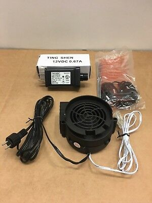 Replacement Fan Blower Motor & Power Adapter For Gemmy Airblown Inflatable's