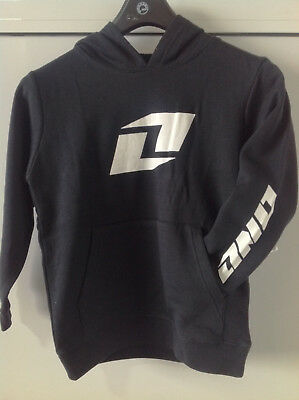 4609-001 Nos One Industries Icon Hoodie Pullover Black Size - M , L
