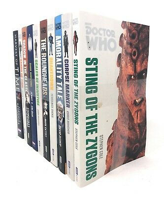 Doctor Who Series 10 Book Set Collection Pack Inc Dark Horizons, Harvest of Time